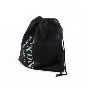 Personalized brand logo printed waterproof nylon nonwoven drawstring gym bag