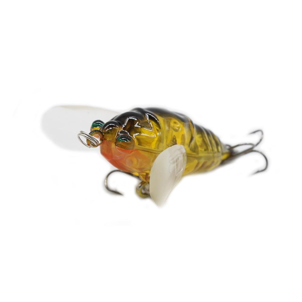 70 มิลลิเมตร 5.8 กรัมขายส่ง Hard พลาสติกตกปลา Cicada Lure ลอยเหยื่อยาก