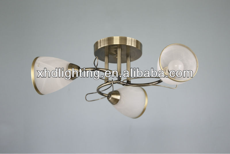 Zhongshan E14 AB hot sale chandelier ceiling light/ lamp 8506-3