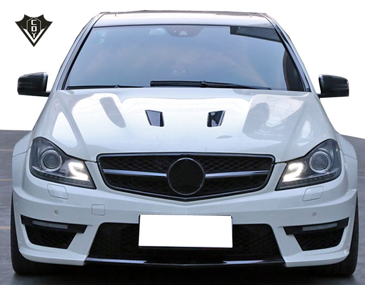 Mecede ben w204 c63 body kit PP materiaal w204 amg body kit