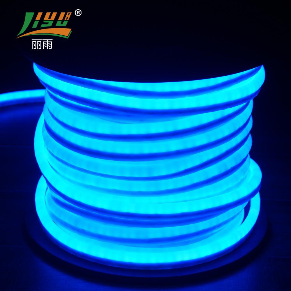 ניאון כחול שינוי הצבע הוביל בר 24 v 12 w/m 56led/m 5050 rgb smd רצועת אור