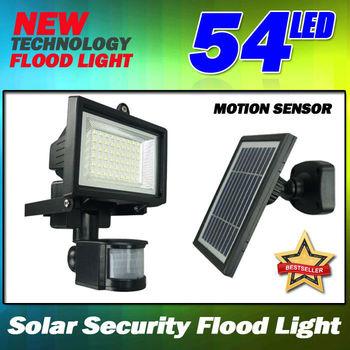 54led Solar Motion Sensor Light Garden Shed Outdoor Lighting