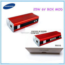 hot sale products newest 30w box mod ecig 25 watt box mod in stock