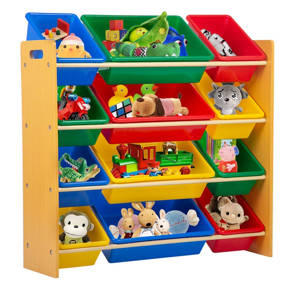 Get Quotations Kids Toy Storage Box Playroom Bedroom Shelf Drawer Organizers With Bins