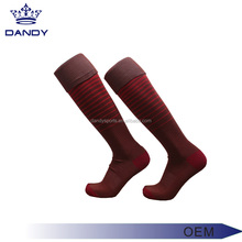 high quality men's cotton mens socks sports striped rugby sock / sport compression soccer sock