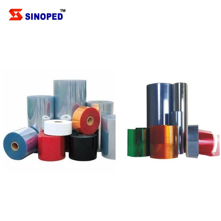 Commonly Used PVC Cling Film Wrap/PVC Metallized Film/Pharmaceutical PVC Film