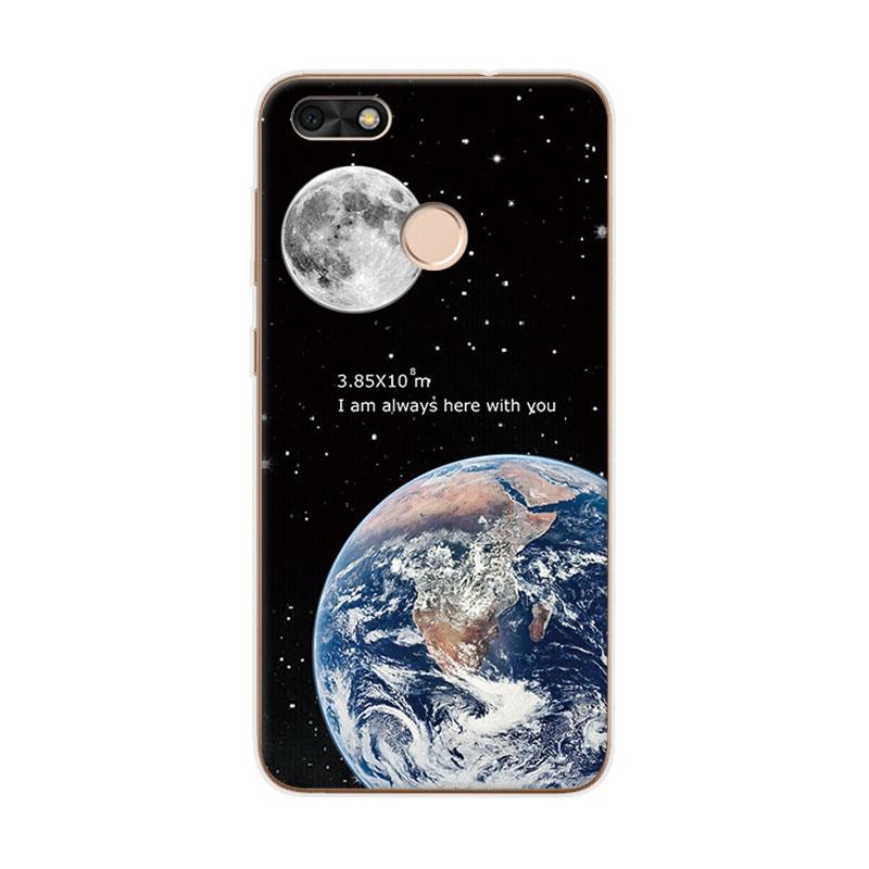 Half-wrapped Case Flight Tracker 77g Space Love Moon Astronaut Soft Tpu Silicone Cover Case For Xiaomi Redmi 5 Plus Note 5 Pro Mi 8