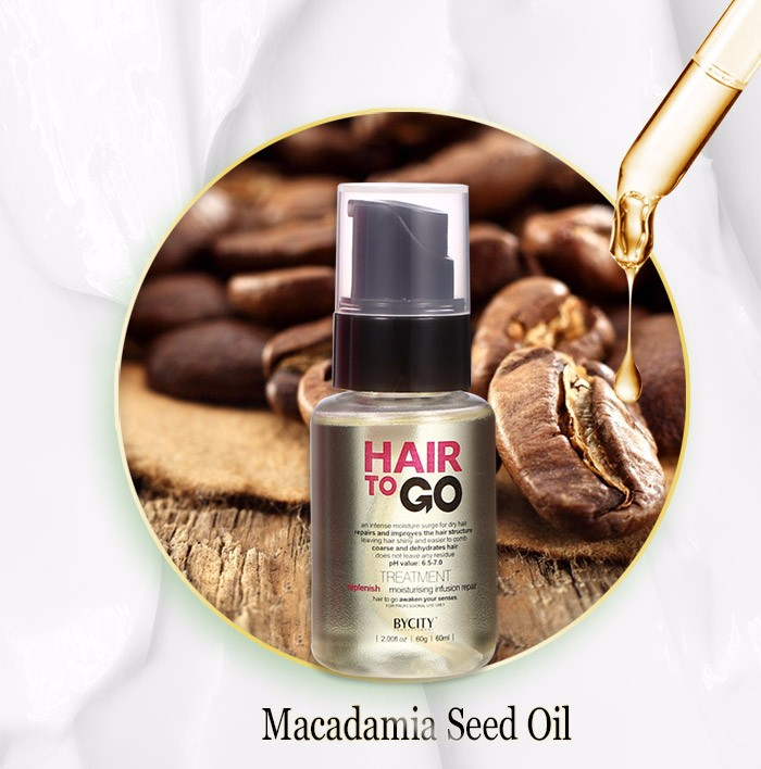 Best selling products macadamia oil hair serum for prefessional salon use