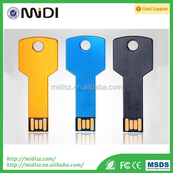 Hot sale Key USB 2.0 3.0 Flash Drive Pen Drive Memory Stick Disk