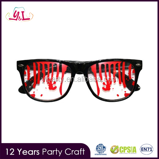 New Premium Bloody Stained Horror Halloween Glasses 2017 Party Glasses