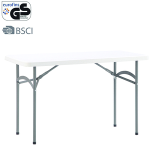 L122*W60cm relaxation plastic table with 4 seaters for garden outdoor bedroom use