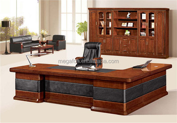 Durable Antique Office Executive Director Desk For Kuwait  Market(FOHS A33133)