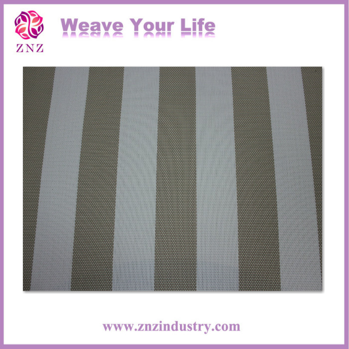 ZNZ open weave pvc fabric outdoor textiles pvc polyester fabric mesh pvc coated mesh