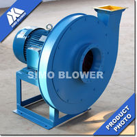 High temperature applicable AC motors induced draft fan