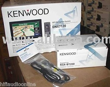 kenwood dnx7120 car gps receiver
