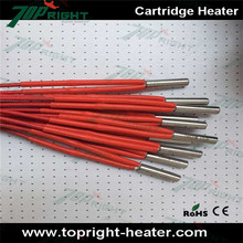 High resistance tube cartridge heater 3mm/4mm/5mm/6mm diameter