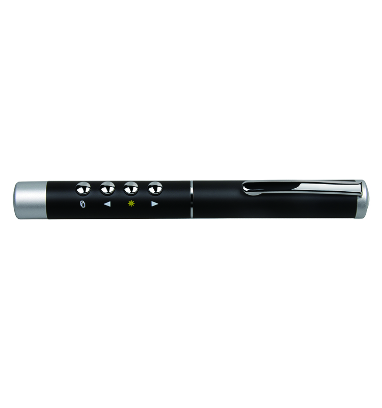 2.4G Pen style Metal Laser Presenter Laser Pointer with USB Plug
