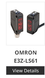 Omron E3T-FD11 5mm- 30mm NPN Rectangular Diffuse Photoelectric Sensor Switch