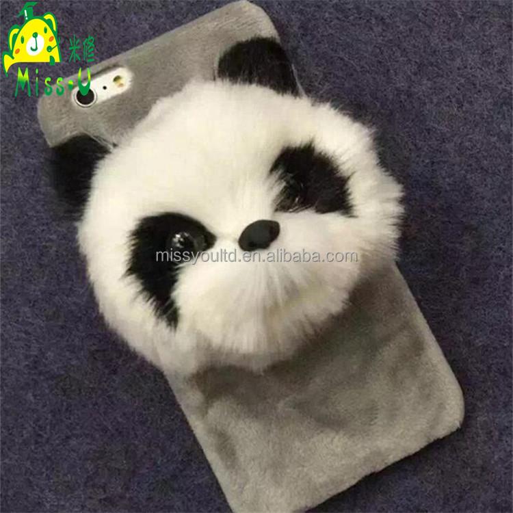 Unique Lifelike Panda Mobile Phone Cover Manufacturer