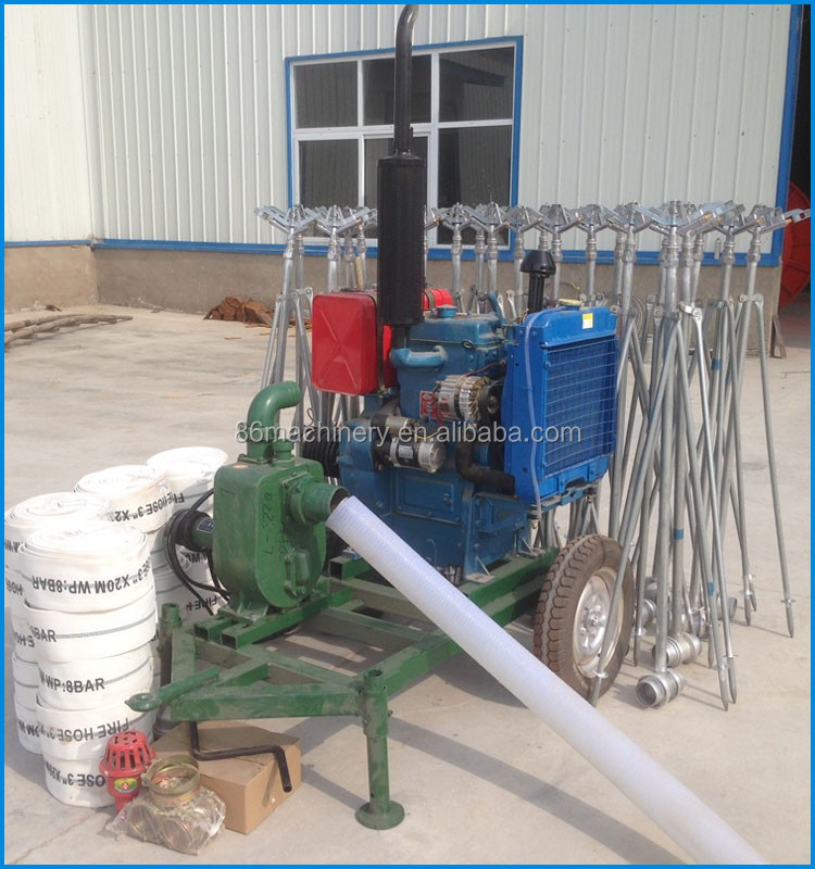 Agricultural sprinkler irrigation system in China