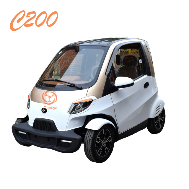 2017 New Style Electrical Car 4 Wheels Electric With Eec Certificate