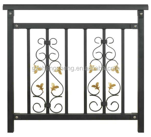 Balcony barrier balcony fence wholesale wrought iron for Balcony barrier