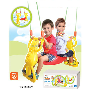 Sensational Outdoor Hanging Baby Double Swing Chair For Kids Buy Double Baby Swing Double Swing Chair Double Swing For Kids Product On Alibaba Com Theyellowbook Wood Chair Design Ideas Theyellowbookinfo