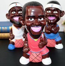 Basketball superstar resin piggy bank,make your own basketball superstar design,custom basketball superstar resin piggy bank