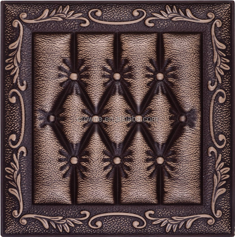 Plant Fiber 3D Texture Decorative Leather Wall Covering Panel For Walls new type leather 3d wall panel
