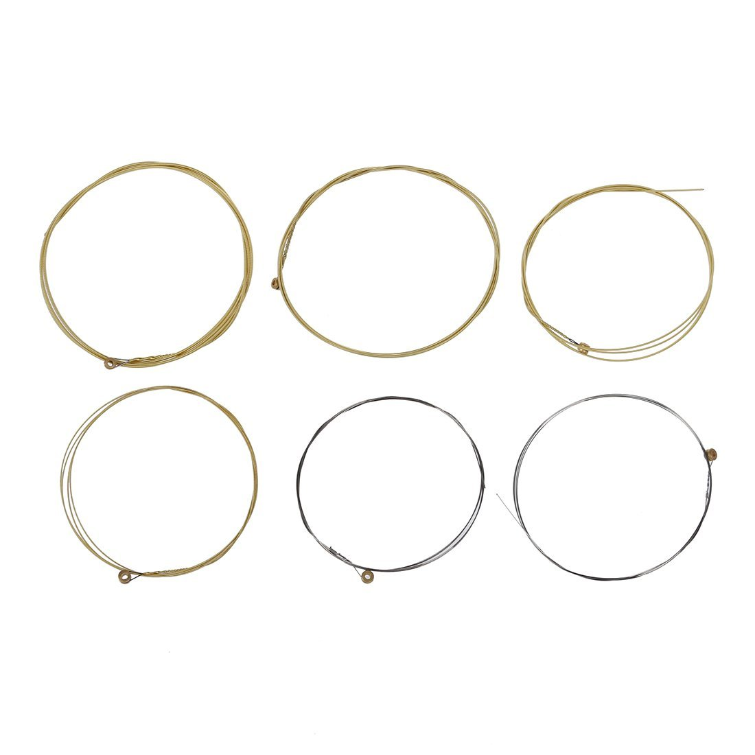 Guitar string - TOOGOO(R)A set of 6 strings for acoustic guitar.