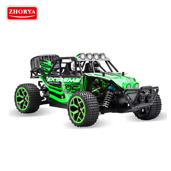Zhorya 2.4G 1:18 scale 50km/h plastic big power rechargeable long range remote control toy off road speed buggy car