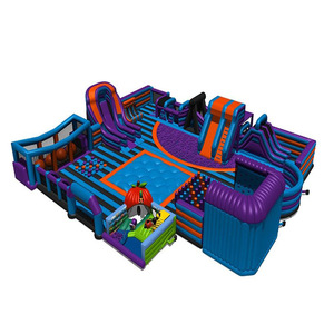 Hot sale adult inflatable games outdoor fun park inflatable adult games