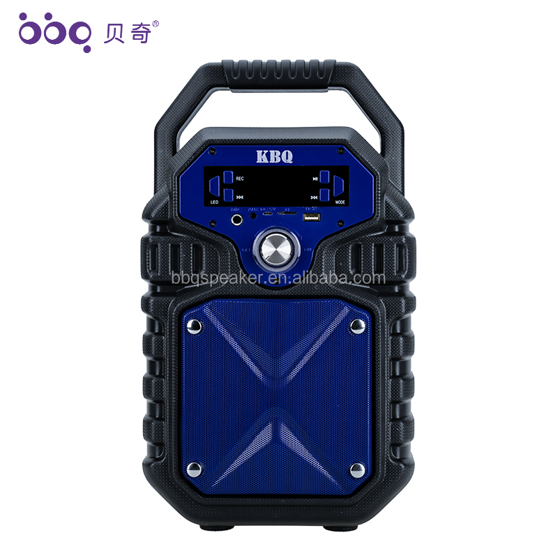 2019 new design bluetooth karaoke music speaker stereo audio speaker box