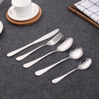 Hot sale new design Stainless Steel Cutlery set gold cutlery,rose gold flatware ,black matte tableware modern style cutlery set