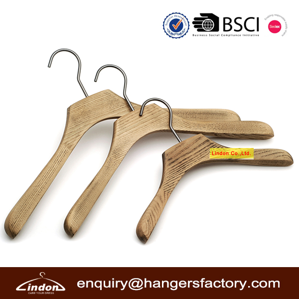 wood ancient ways feeling old coat hangers for Heavy clothes