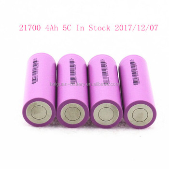 China First In Stock LS 210Wh/Kg 3.7V 4Ah 5C 21700 Lithium Ion Electric Car Battery VS Tesla