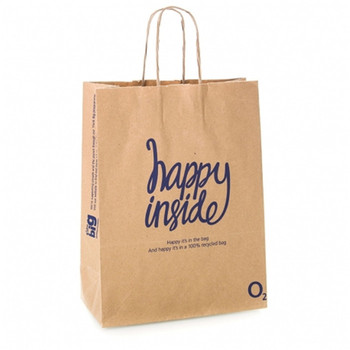 China Suppliers New Products Customized high quality handy brown Kraft paper bag