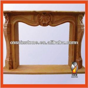 France Fireplace Mantel With Hearths From China Factory
