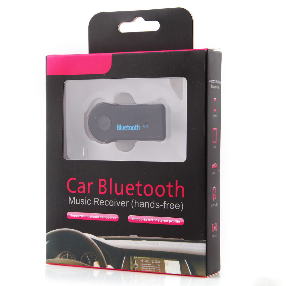 Xe Âm Nhạc 3.5mm bluetooth Âm Thanh receiver car kit bluetooth receiver