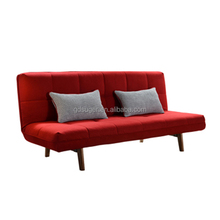 Hotel apartment fabric / leather simple sofas bed guangzhou furniture