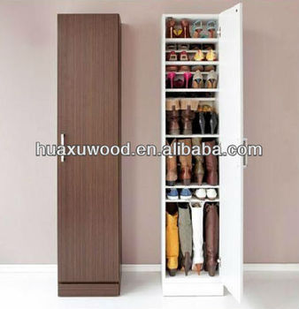Modern Minimalist Vertical Particleboard Shoe Cabinet - Buy ...