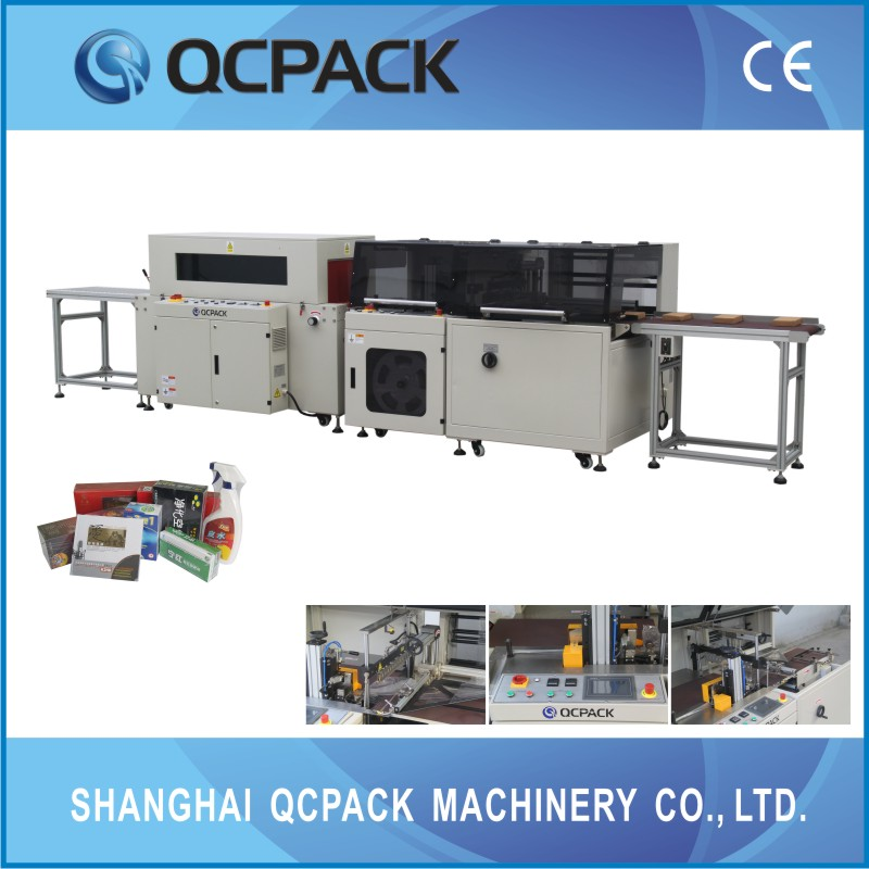 tea box automatic shrinkable packing equipment 10 years factory