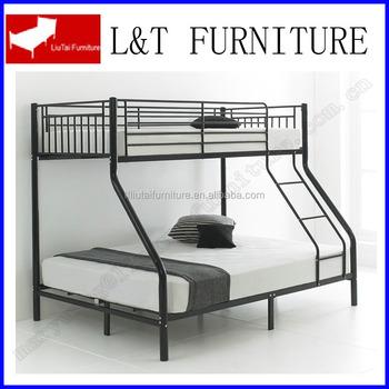 Military Knock Dowmn Metal Triple Bunk Bed Three Persn Bunk Bed