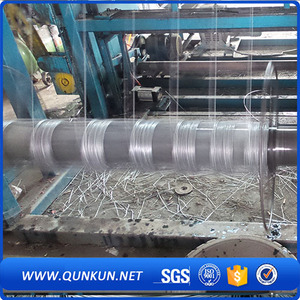 galvanized hinge joint field fences/cattle woven wire mesh fence