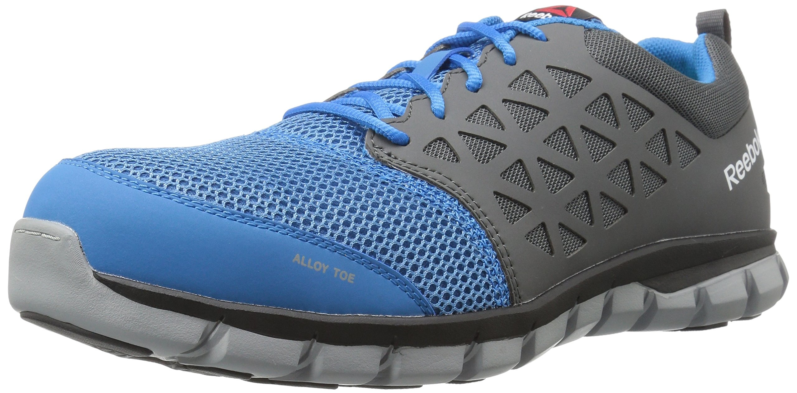 8c272cf9e5b Get Quotations · Reebok Work Men s Sublite Cushion Work RB4040 Industrial  and Construction Shoe
