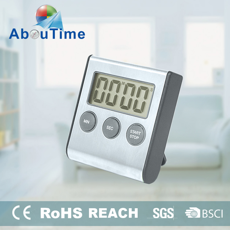 Kitchen electronic timer stainless steel for kitchen stand