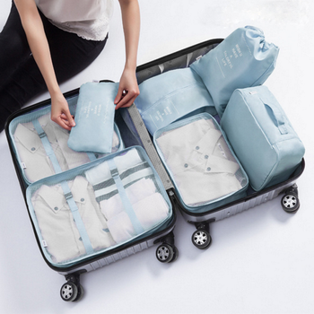 Water Resistant Ng Cubes Compression Multi Functional Luggage Squares Storage Bag Travel