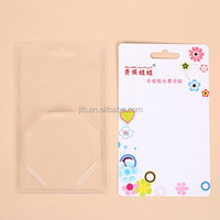Hardware plastic blister slide card packaging with insert card