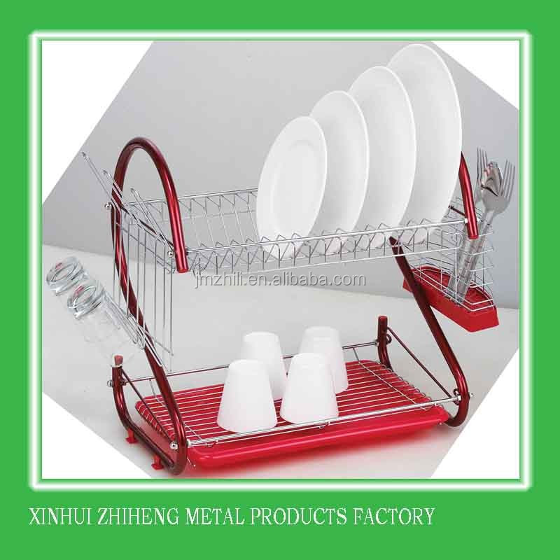 Hot sales stainless steel kitchen dish rack