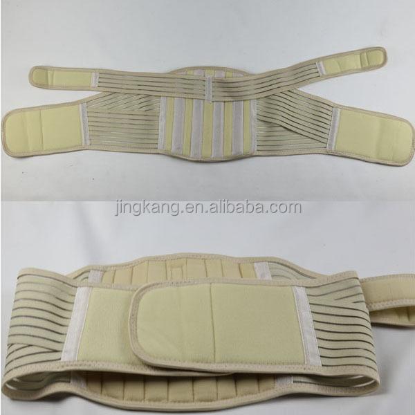 how to wear a pelvic support belt
